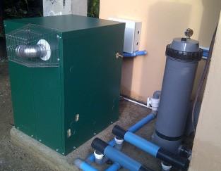 Boiler and heat pump installation